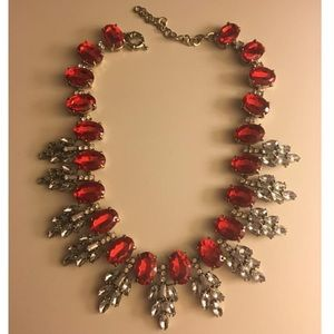 Jewelry - Hot Red Glamorous Necklace